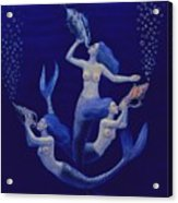 Call Of The Mermaids Acrylic Print