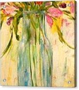 Calla Lilies Acrylic Print by Barbara Pirkle