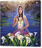Calla Lily - Be Still Acrylic Print