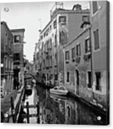 Calle A Venezia Acrylic Print