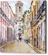 Calle Fuente Alhabia Acrylic Print