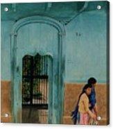 Calle Hermanos Dominquez Acrylic Print