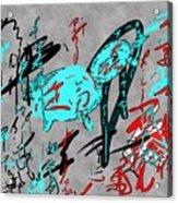 Calligraphy 01 Acrylic Print