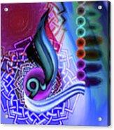 Calligraphy 109 4 Acrylic Print