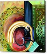 Calligraphy 123 3 Acrylic Print