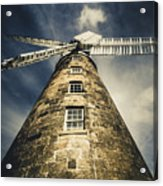 Callington Mill In Oatlands Tasmania Acrylic Print