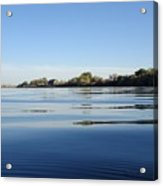 Calm And Tranquil Waters Acrylic Print