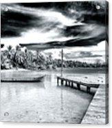 Calm At Boca Del Drago Panama Acrylic Print