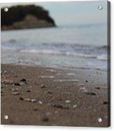 Calm Beach Sand Acrylic Print