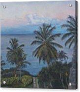 Calm In The Carribean Acrylic Print