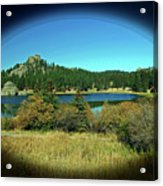 Calm Lake Acrylic Print