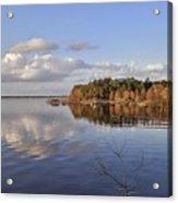 Calm Lake Marion Acrylic Print