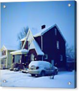 Calm Of Winter Acrylic Print