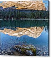 Calm O'hara Lake And Reflection At Sunrise Acrylic Print