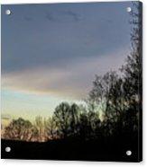 Calm On The Horizon Acrylic Print