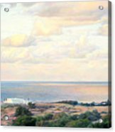 Calm Sea... View From My Balkon Acrylic Print