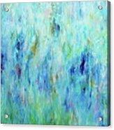 Calming Turquoise Acrylic Print