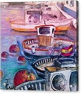 Calpe Harbour 03 Acrylic Print