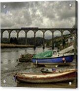 Calstock Viaduct Acrylic Print