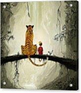 Calvin And Hobbes Acrylic Print