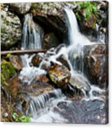 Calypso Cascades White Water Acrylic Print by Brent Parks