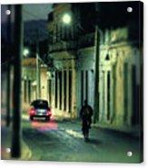 Camaguey Street Acrylic Print