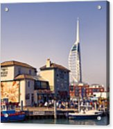 Camber Dock, Old Portsmouth Acrylic Print