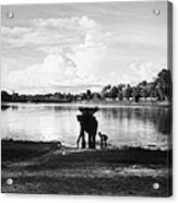 Cambodia: Angkor, 1960 Acrylic Print