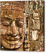 Cambodia Faces  Acrylic Print