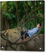 Cambodian Jungle Swing Acrylic Print
