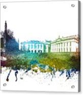 Cambridge Cityscape 01 Acrylic Print