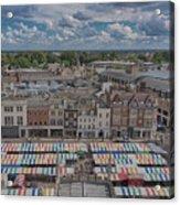 Cambridge Market Acrylic Print