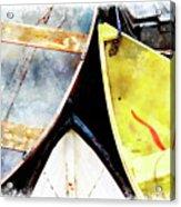 Camden Dories Wc Acrylic Print