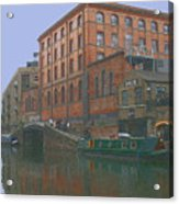 camden lock London Acrylic Print