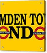 Camden Town Acrylic Print