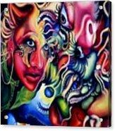 Cameleon Acrylic Print