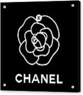 Camellia Chanel Acrylic Print