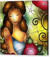 Camellia Lady Acrylic Print