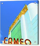 Cameo Theatre Acrylic Print