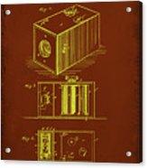 Camera Patent Drawing 1a Acrylic Print