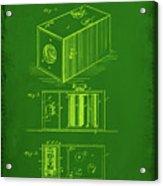 Camera Patent Drawing 1g Acrylic Print