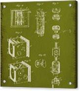 Camera Patent Drawing 2g Acrylic Print
