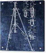 Camera Tripod Patent Acrylic Print