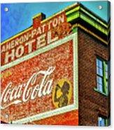 Cameron Patterson Hotel Acrylic Print