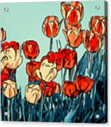Camille's Tulips - Version 3 Acrylic Print