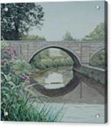 Camillus Canal Acrylic Print
