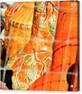 Cammo Pottery Acrylic Print