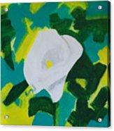 Camo Calla Lilly Acrylic Print