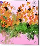 Camo Nature Range Acrylic Print
