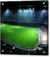 Camp Nou At Night Acrylic Print by Agusti Pardo Rossello
